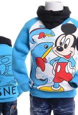 Jongenskleding Mickey Mouse Jongens Sweater 2 - blauw