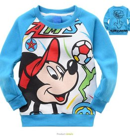 Jongenskleding Mickey Mouse Sweater 3 - blauw