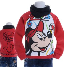 Jongenskleding Mickey Mouse Sweater 3 - rood