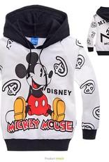 Jongenskleding Mickey Mouse Jongens Sweater - wit / zwart