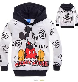 Jongenskleding Mickey Mouse Sweater - wit / zwart