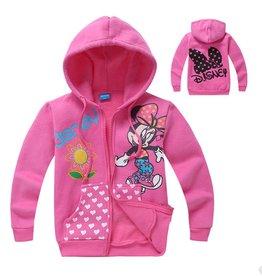 Meisjeskleding Minnie Mouse Sweatvest 2 - roze