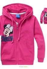 Meisjeskleding Minnie Mouse Meisjes Sweatvest 4 - roze
