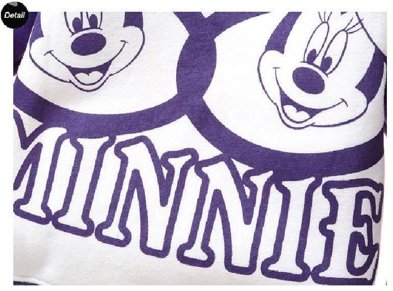 Meisjeskleding Minnie Mouse Meisjes Sweater - paars