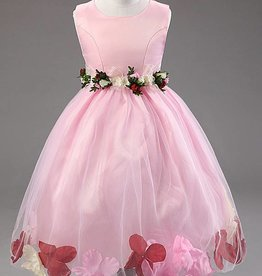 Meisjeskleding Feestjurk Karen - roze