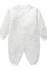 Babykleding Dieren Jongens en Meisjes Boxpakje / Romper - wit / bruin