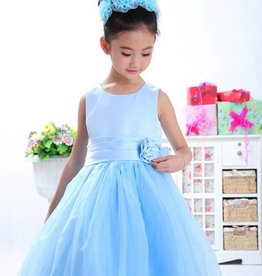 Meisjeskleding Feestjurk Sasha - blauw