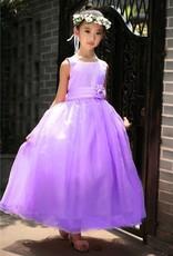 Meisjeskleding Meisjes Feestjurk Sasha - paars