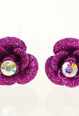 Haardecoratie Accessoires voor meisjes - Haarspeld - HS-02-P - paars