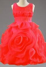 Meisjeskleding Meisjes Feestjurk Rosalin - rood