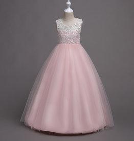 Meisjeskleding Feestjurk Martha - roze