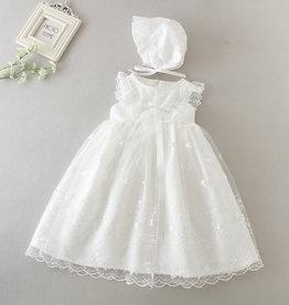 Meisjeskleding Doopjurk Antonia - gebroken wit