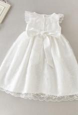 Meisjeskleding Meisjes Doopjurk Antonia - gebroken wit