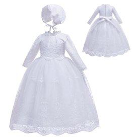 Meisjeskleding Doopjurk Magdalena - wit