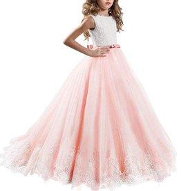Meisjeskleding Feestjurk Yara - roze