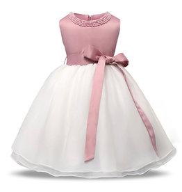 Meisjeskleding Feestjurk Christina - roze
