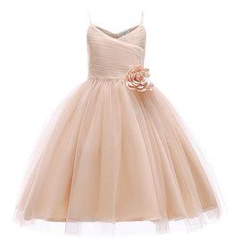 Meisjeskleding Feestjurk Loïs - peachy pink