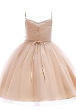 Meisjeskleding Meisjes Feestjurk Loïs - peachy pink