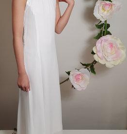 Meisjeskleding Feestjurk Maxima - wit