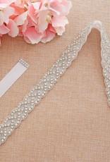 Kledingaccessoires Accessoires voor meisjes - Bruidsriem - RM-01-W - wit