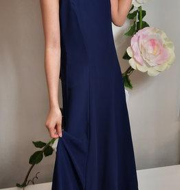 Meisjeskleding Feestjurk Maxima - navy blauw