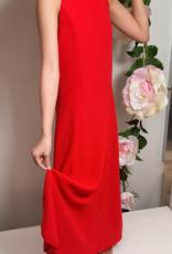 Meisjeskleding Meisjes Feestjurk Maxima - rood