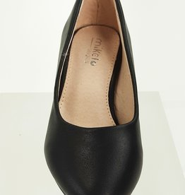 Meisjesschoenen Pumps - mat - zwart