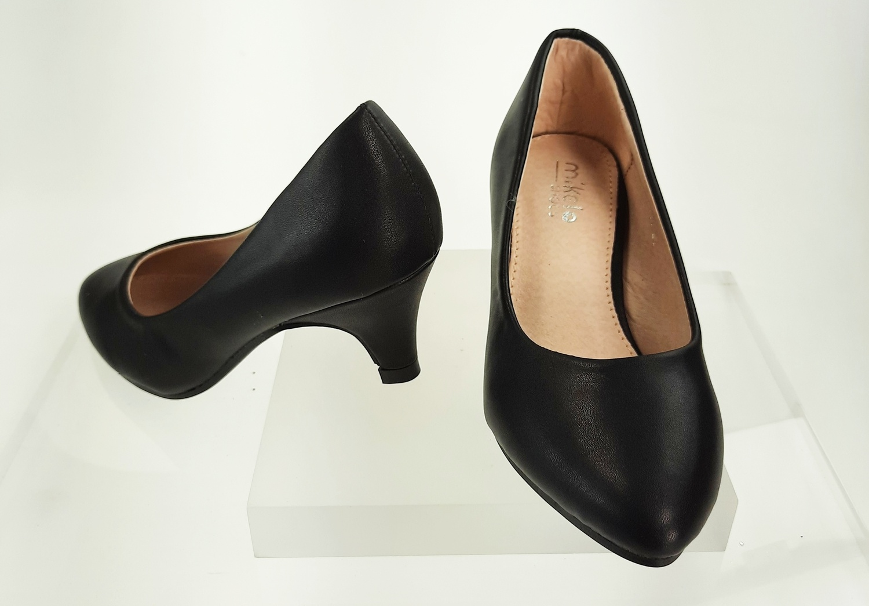 Meisjesschoenen Meisjesschoen - Pumps - mat - zwart