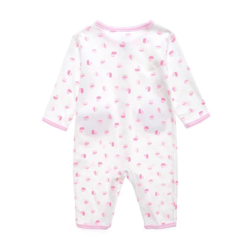 Babykleding Cupcake Meisjes Boxpakje - wit / roze