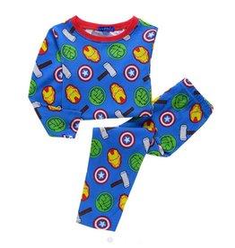 Jongenspyjama's Avengers Pyjama - blauw