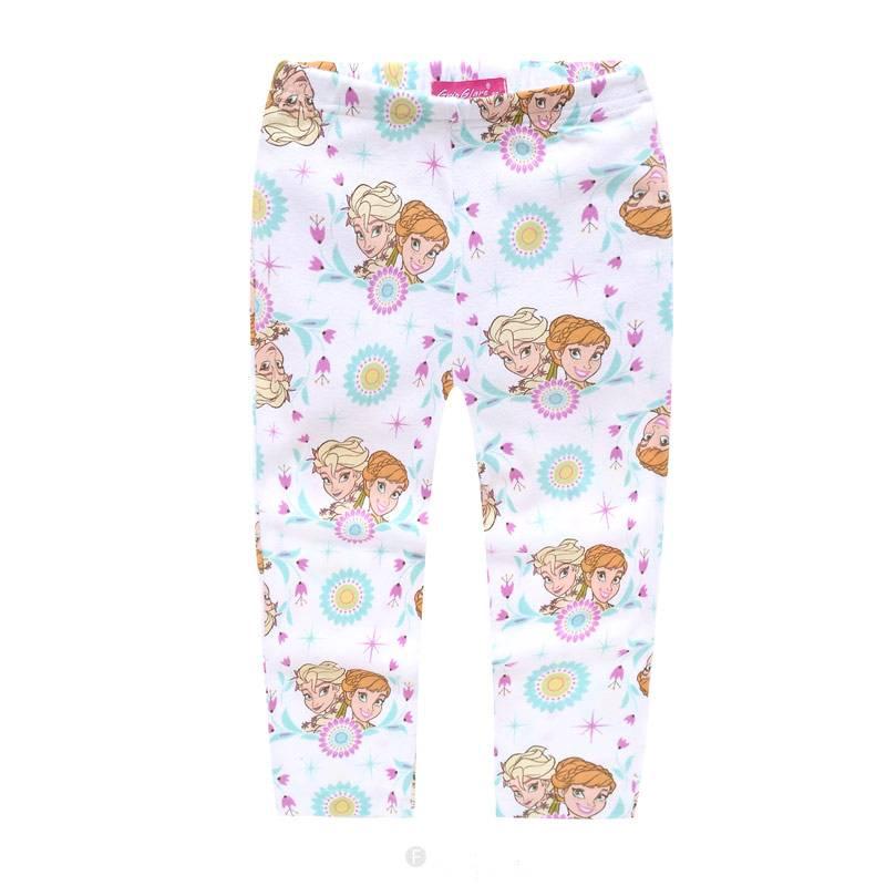Meisjespyjama's Frozen Meisjes Pyjama - wit / roze