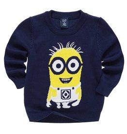 Jongenskleding Minions Sweater - blauw
