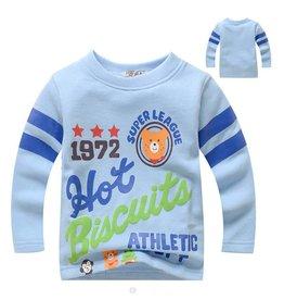 Jongenskleding Hot Biscuits Super League Sweater - blauw