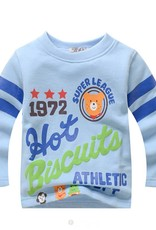 Jongenskleding Hot Biscuits Super League Jongens Sweater - blauw