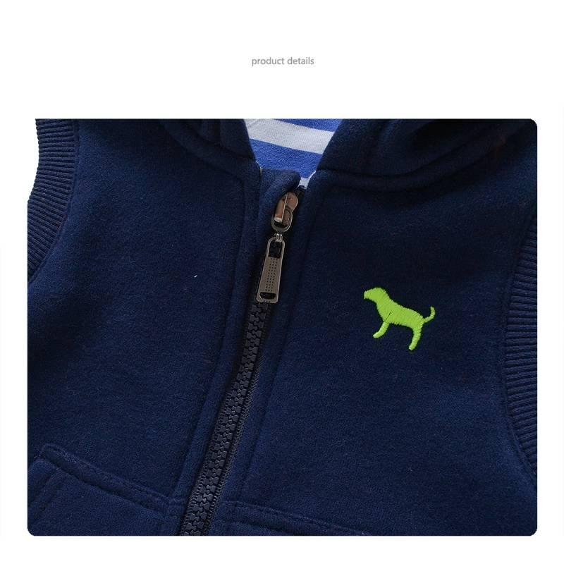 Jongenskleding Puppy Jongens Bodywarmer - blauw