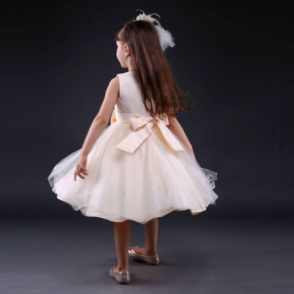 Meisjeskleding Meisjes Feestjurk Moon - ivoor