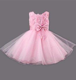 Meisjeskleding Feestjurk Roos - roze