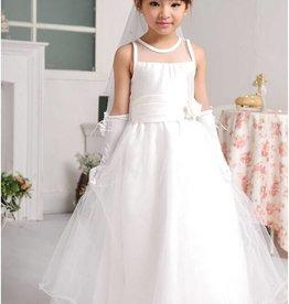 Meisjeskleding Feestjurk Anastacia - gebroken wit