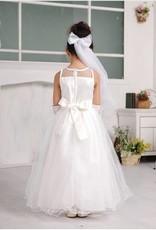 Meisjeskleding Meisjes Feestjurk Anastacia - gebroken wit