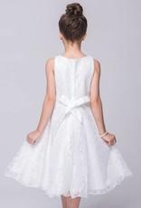 Meisjeskleding Meisjes Feestjurk Annabelle - wit