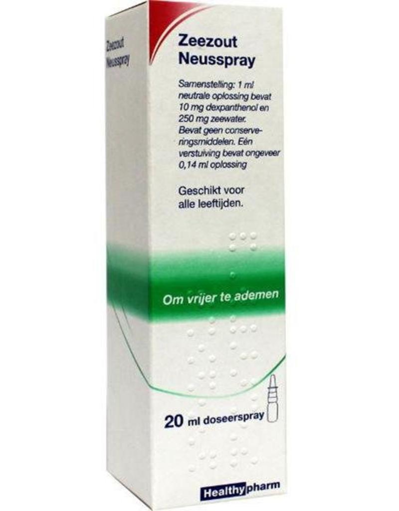 Healthy Neusspray Zeezout 15ml