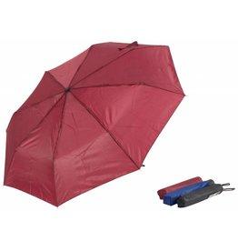Paraplu mini 53cm 3 ass. kleur