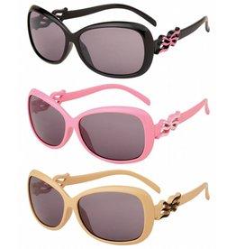 Kinder zonnebril. 3 assorti kleur