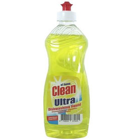At Home Clean Afwasmiddel Lemon 500ml.