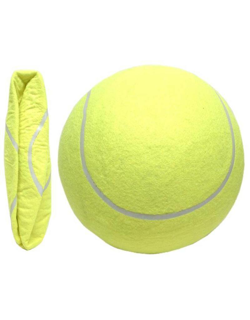 Tennisbal groot opblaasbaar 23 cm.
