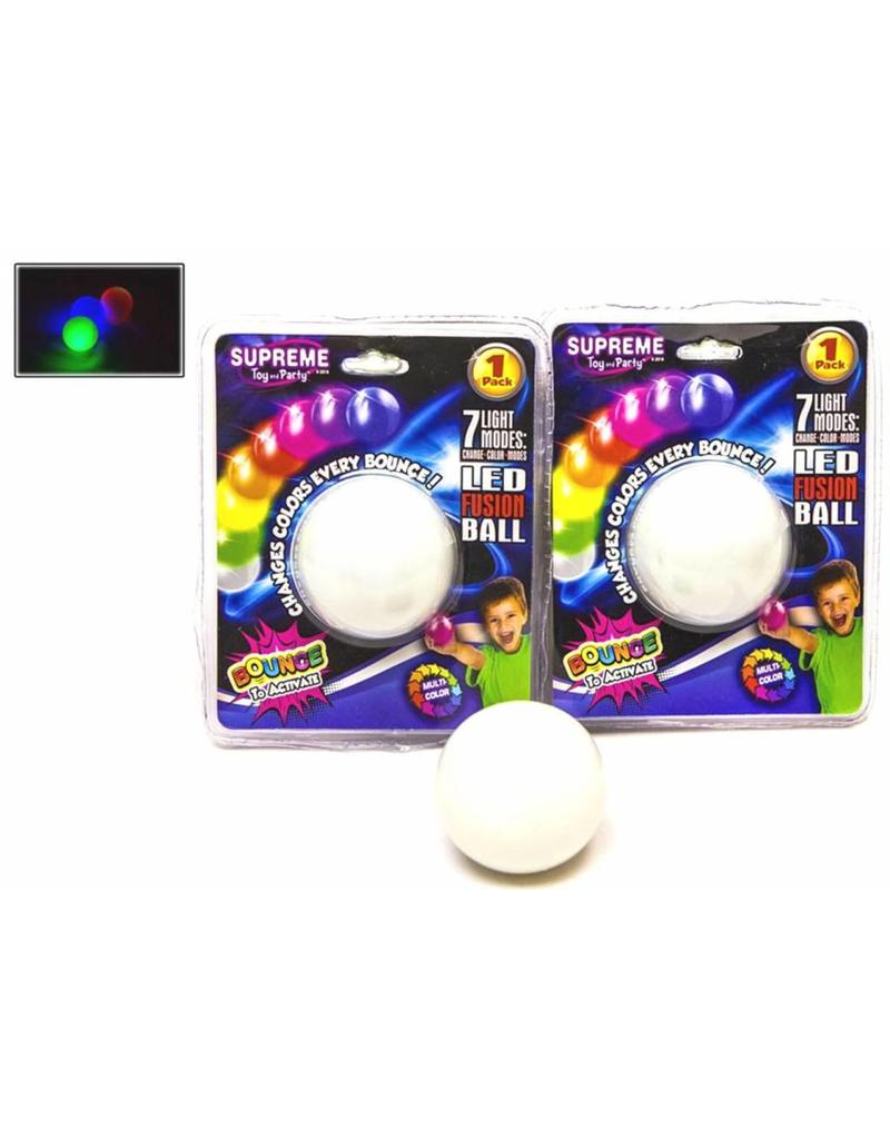 Magic Rainbow Stuiterbal met licht