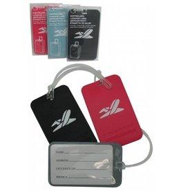 Kofferlabel assorti kleur