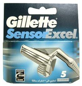 Gilette Sensor Excel 5 stuks mesjes
