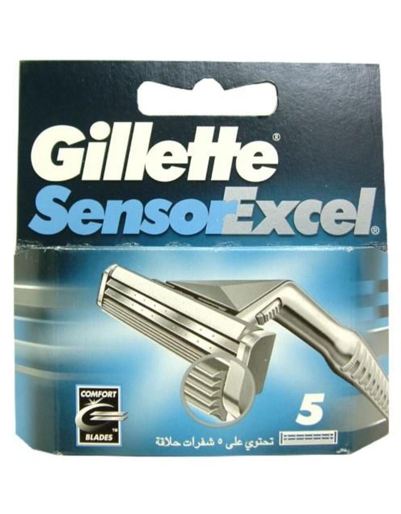 Gilette Sensor Excel 5stuks mesjes