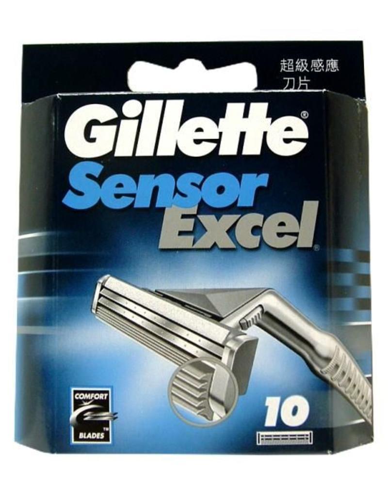Gilette Sensor Excel 10 stuks mesjes
